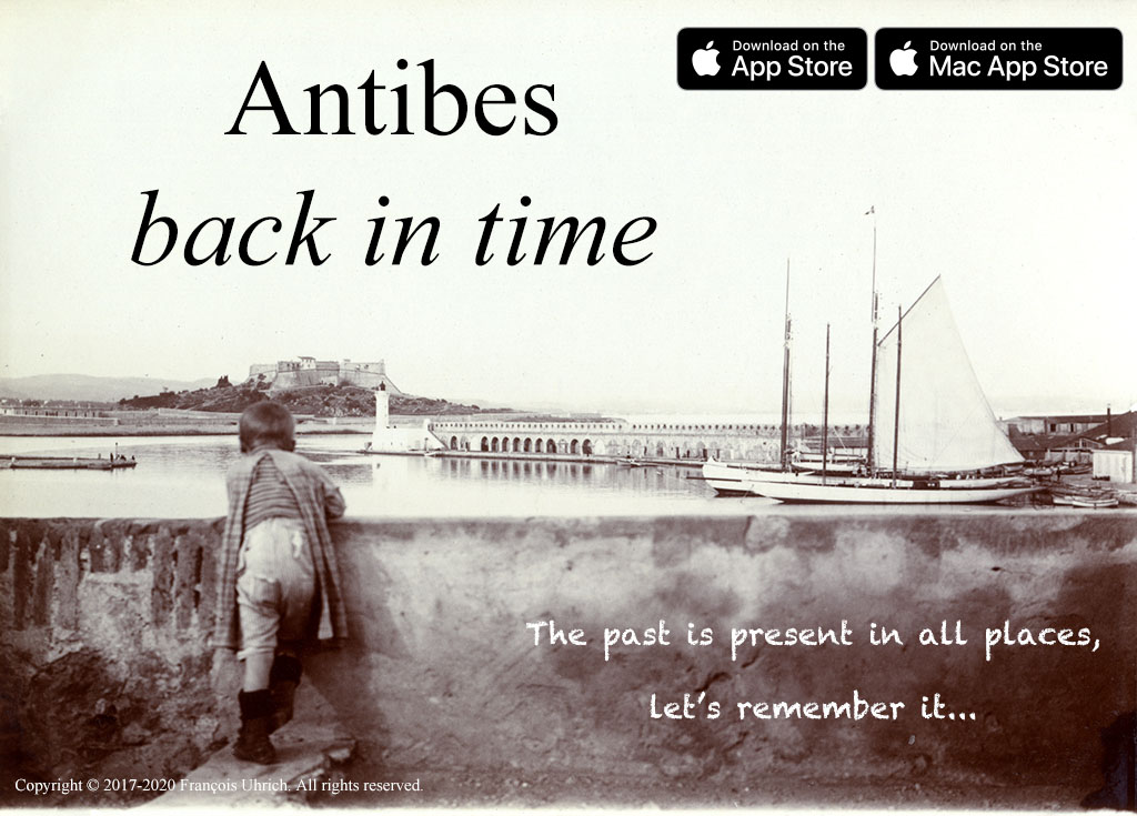 Antibes back in time